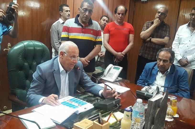 محافظ بورسعيد يعتمد نتيجة الشهادة الإعدادية 2018
