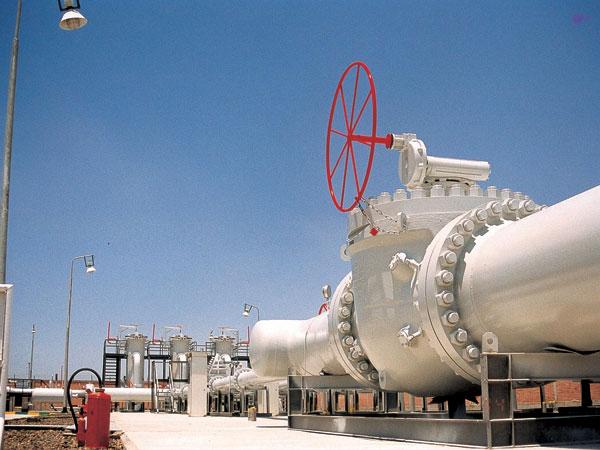 محافظ المنيا يفتتح محطة الغاز الطبيعي