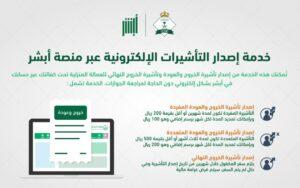 استعلام عن تأشيرة خروج وعودة برقم الهوية طباعة التأشيرة برقم الإقامة