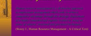 تعريف الموارد البشرية Pdf