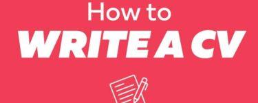 كيفية كتابة سيرة ذاتية