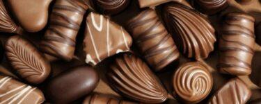انواع الشوكولاتة واسمائها بالصور
