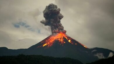 تفسير رؤية البركان في المنام
