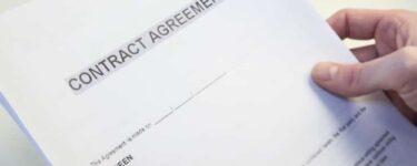 عقد اتفاق بين طرفين