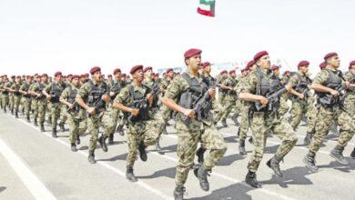 سلم رواتب الجيش الكويتي مع البدلات 2022