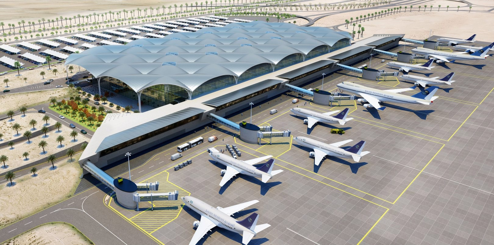 كيف تتواصل مع مطار الملك خالد الدولي